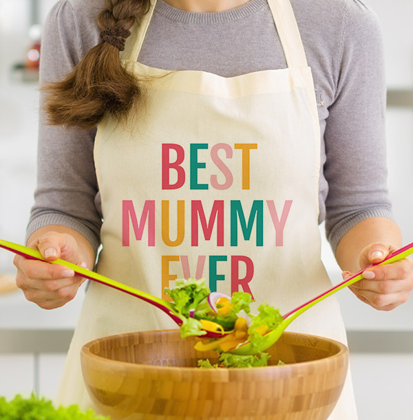 Best Mummy Ever Personalised Apron