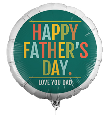 Happy Father's Day Personalised Balloon