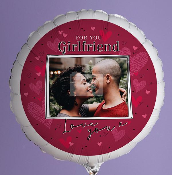 For You Girlfriend Photo Balloon