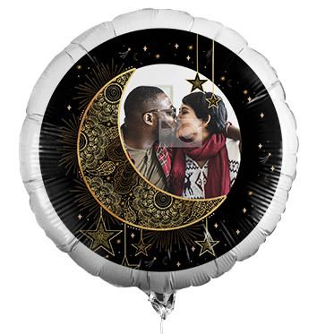 To the Moon and Back Photo Balloon