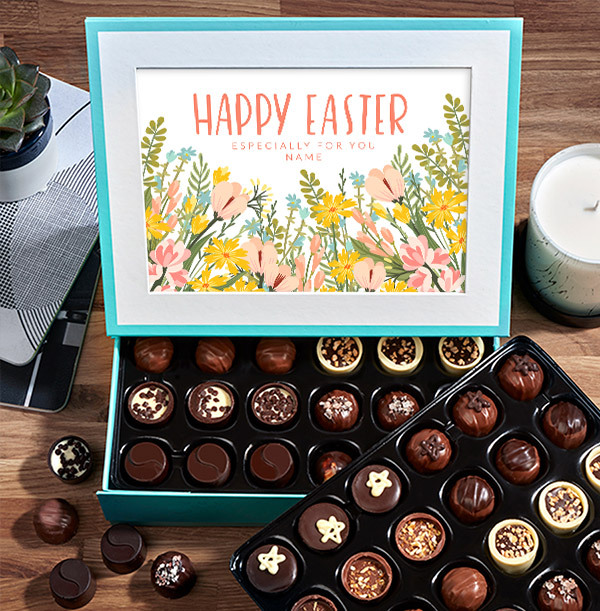 Especially For You Easter Personalised Chocolates - Box of 60