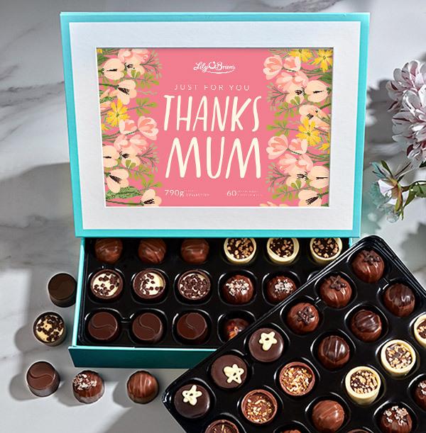 Thanks Mum Personalised Chocolate - Elite