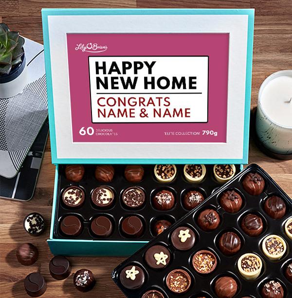 Happy New Home Personalised Chocolates - Elite