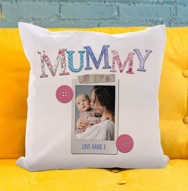 Mummy Photo Personalised Cushion