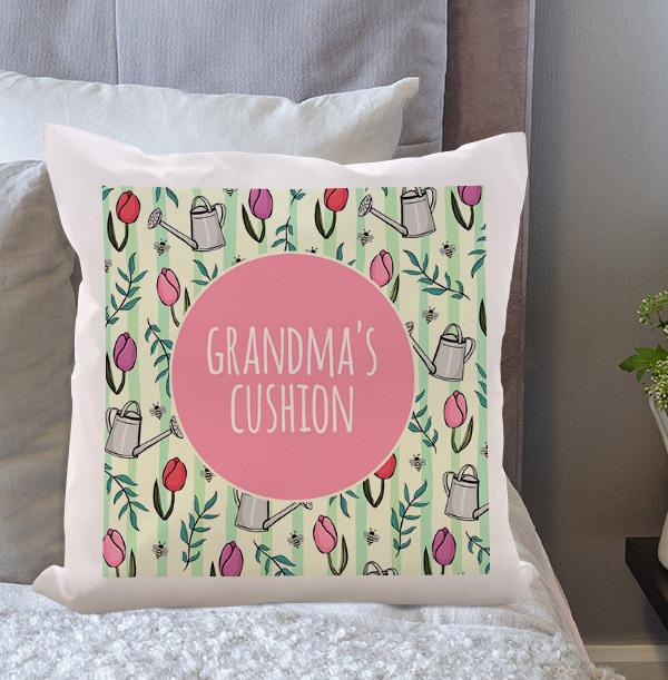 Grandma's Personalised Cushion