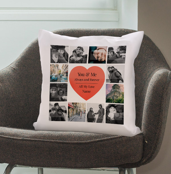 Always and Forever Photo Cushion