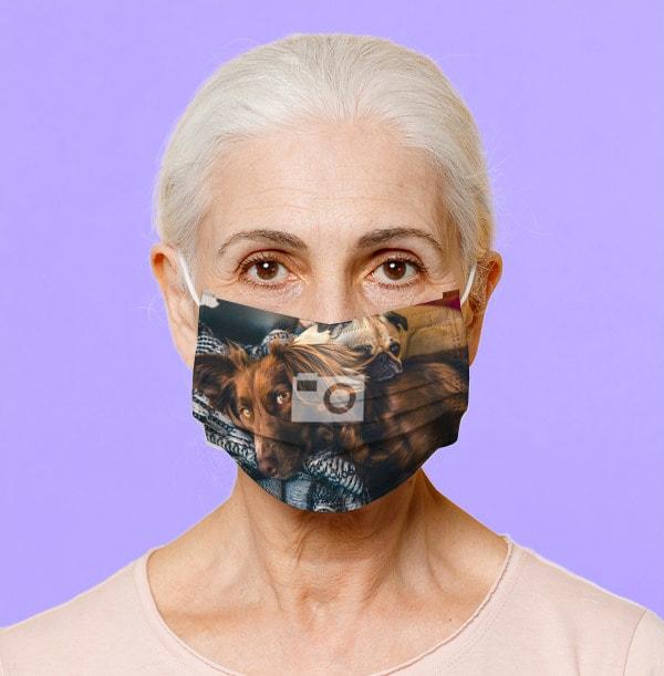 Full Photo Upload Face Mask