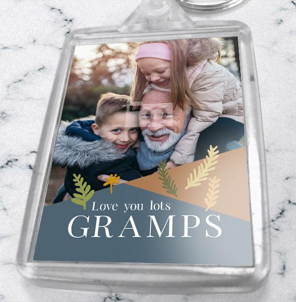 Gramps Photo Keyring