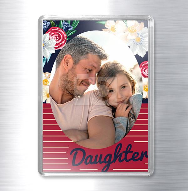 Daughter Photo Magnet
