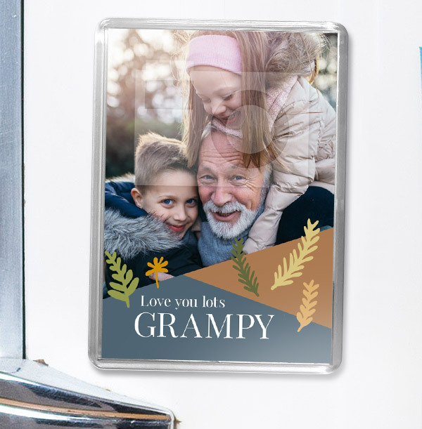Grampy Photo Magnet