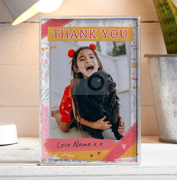 Thank You Acrylic Photo Block