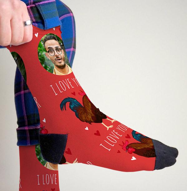 I Love Your Photo Socks