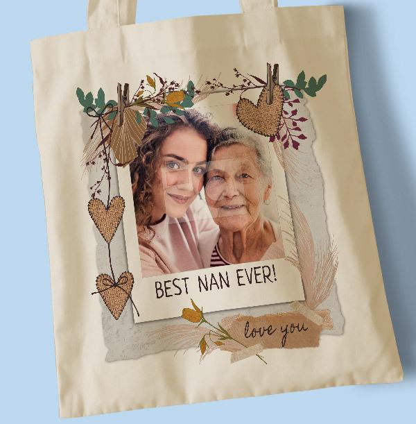 Best Nan Ever Photo Tote Bag