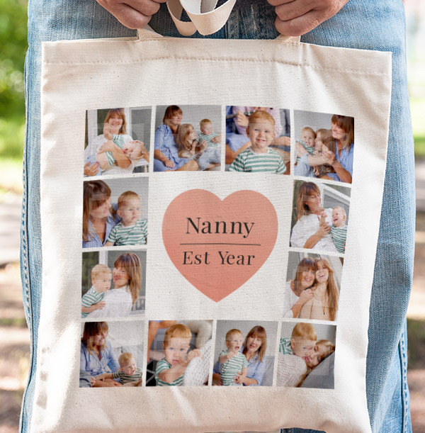 Nanny Mother's Day Photo Tote Bag