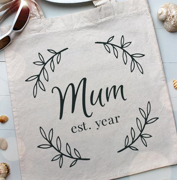 Mum Personalised Tote Bag