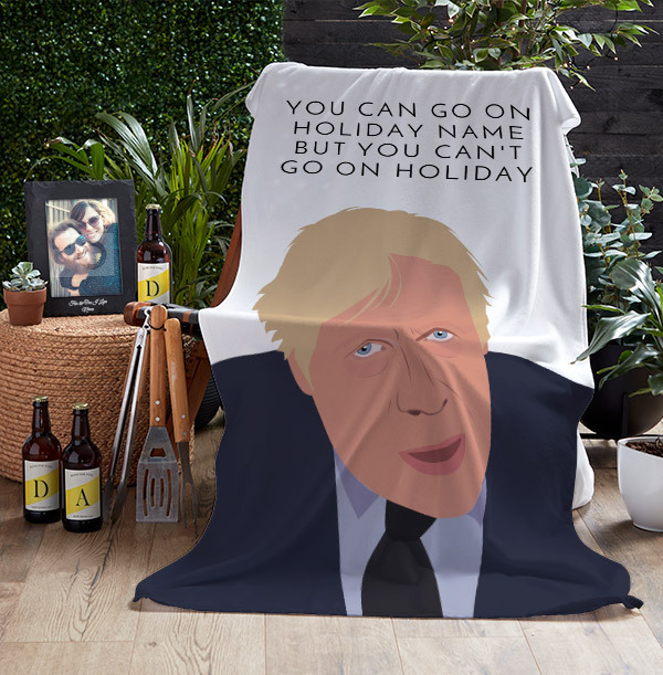 You Can Go On Holiday Personalised Towel