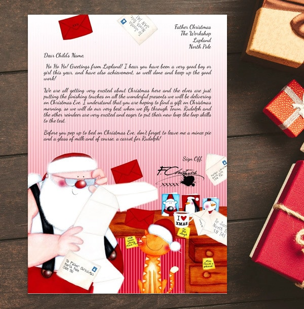 Personalised Letter From Santa - Santa's Office