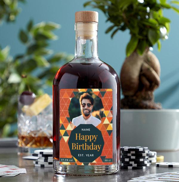 Happy Birthday Photo Upload Rum
