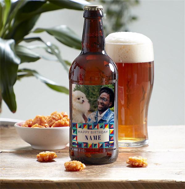 Happy Birthday Photo Upload Beer - Multi Pack