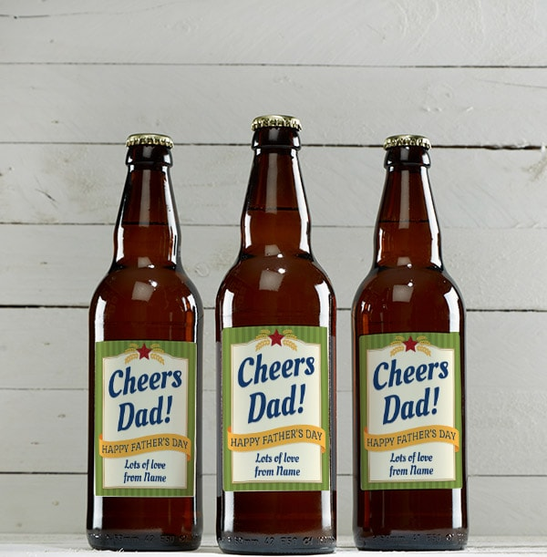 Personalised Father's Day Mixed Ales - Multi Pack