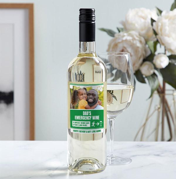 Father's Day Sauvignon Blanc - Photo Upload