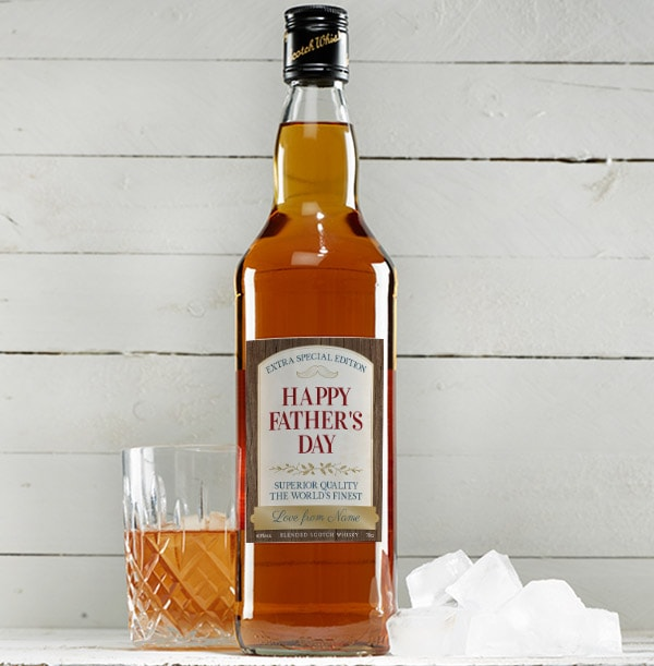 Personalised Father's Day Blended Scotch Whisky