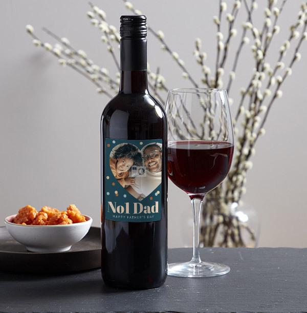 No1. Dad Red Wine - Photo Upload