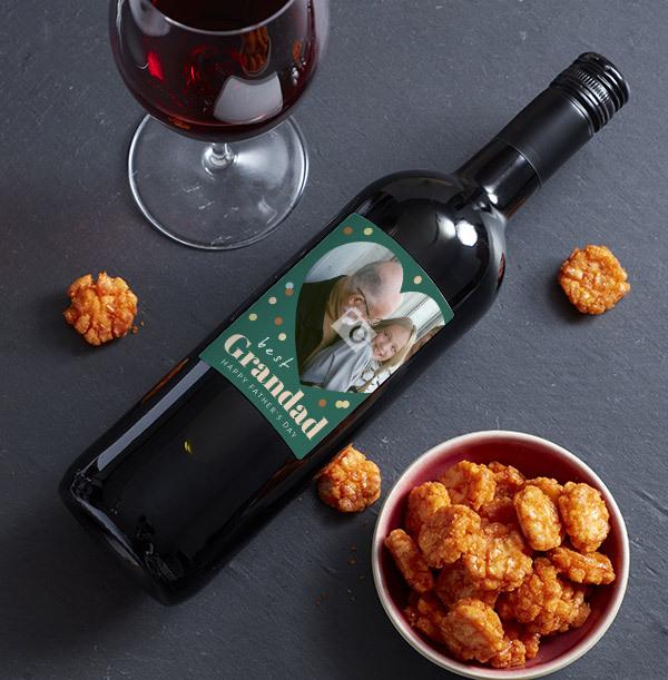 Best Grandad Red Wine - Photo Upload