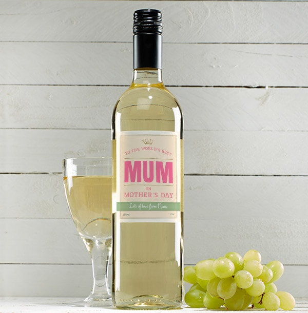 Personalised Mother's Day Sauvignon Blanc