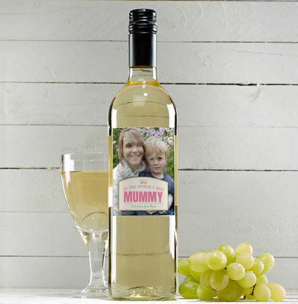 Sauvignon Blanc with Photo for Mum