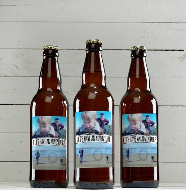 Double Photo Beer Bottles - Multi Pack