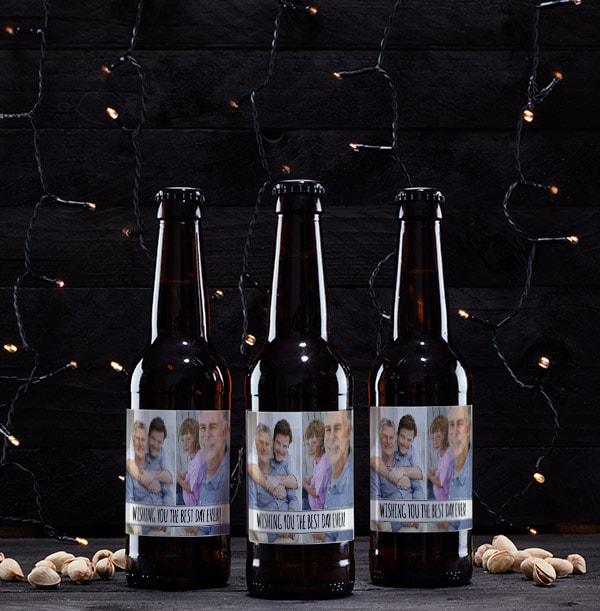 Double Photo Lager Bottles - Multi Pack