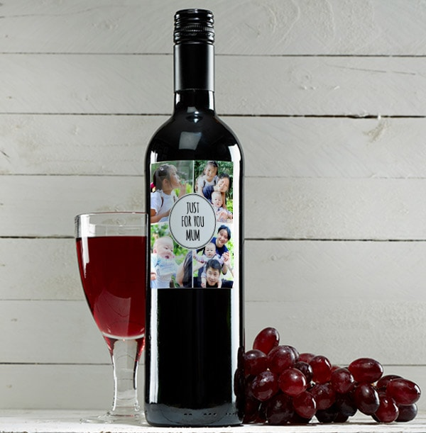 Red Wine Multi Pack With Four Photos
