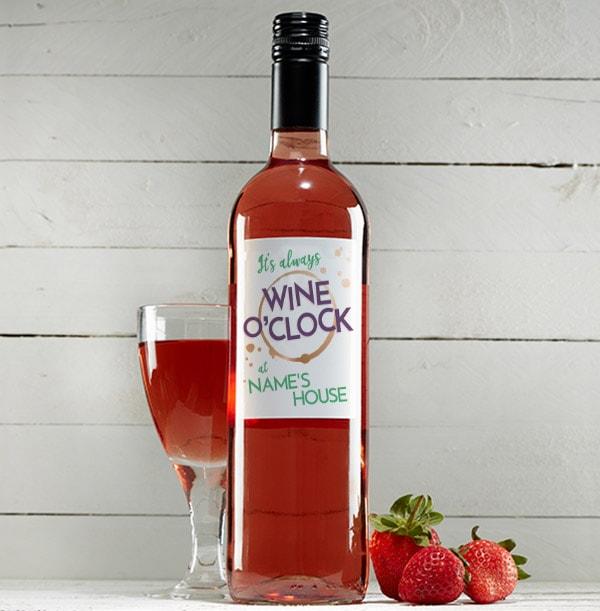 Wine O'Clock Personalised Rosé Wine