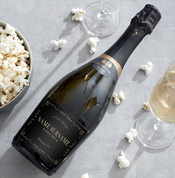 Personalised Prosecco Brut  Bottle