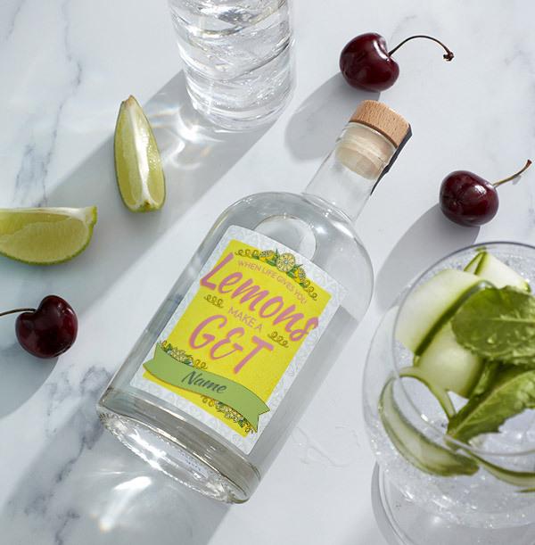 Personalised London Dry Gin