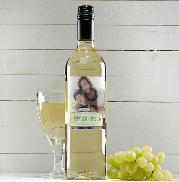 Mother's Day Sauvignon Blanc With Photo Upload