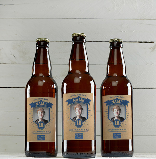 18th Birthday Photo Beer - Multi Pack