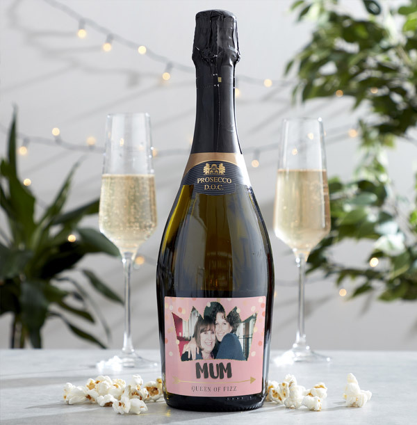 Mum Prosecco With Photo & Text