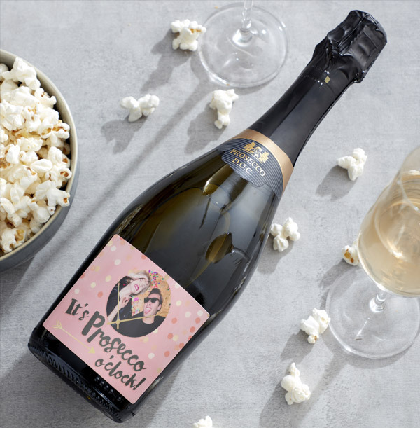Personalised Birthday Prosecco With Photo