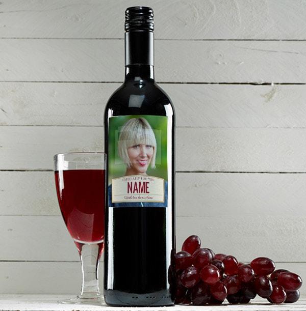 Photo Red Wine Bottle