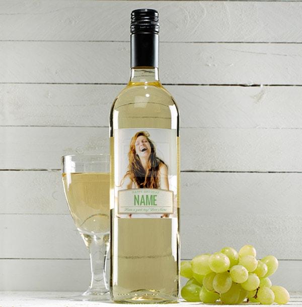 Photo White Wine Bottle - Sauvignon Blanc