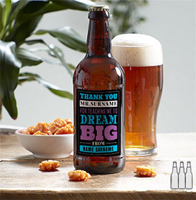 Best Teacher in the World Personalised Beer - Multi Pack