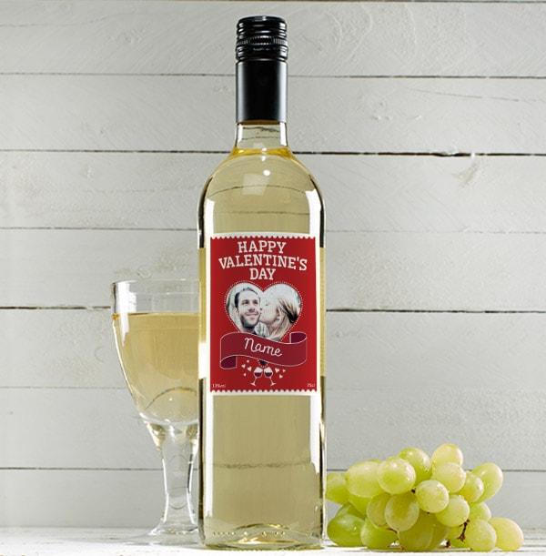 Valentine's Day White Wine - Photo Upload