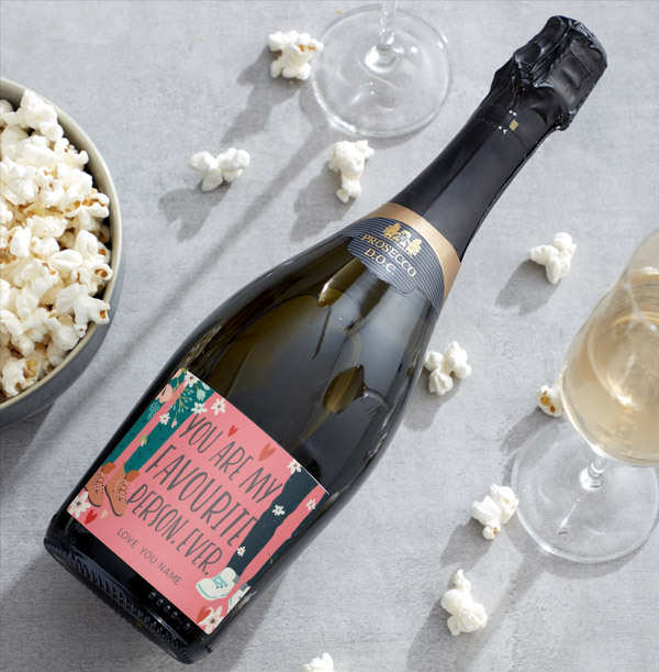 Personalised You Are My Favourite Person Prosecco