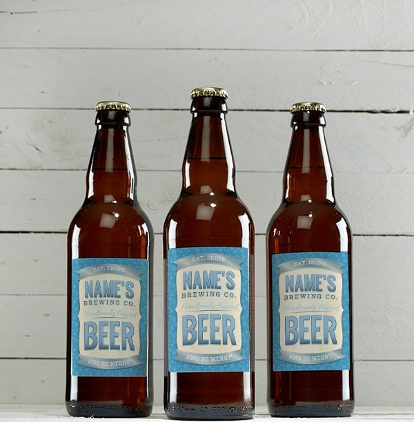 Personalised Multi Pack of Mixed Ale