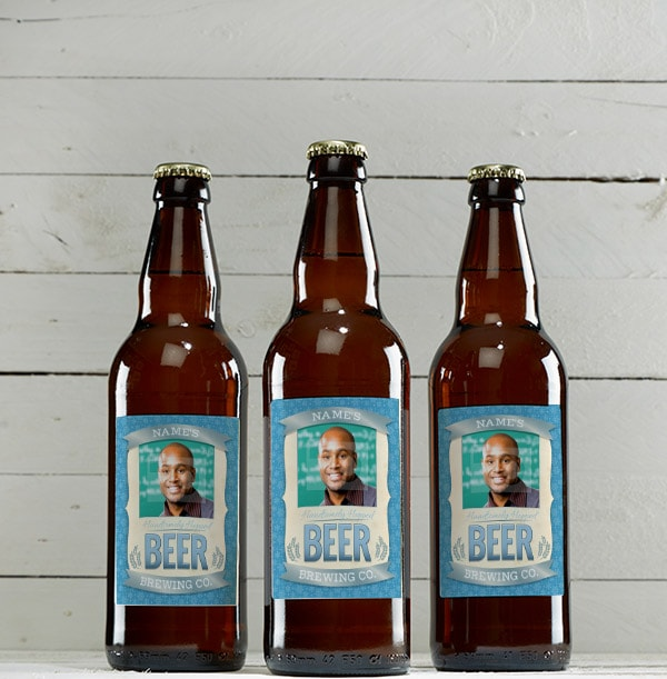 Personalised Mixed Ale with Photo - Multi Pack