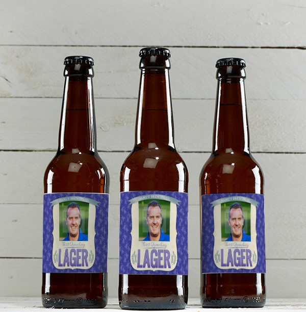 Personalised Lager with Photo - Multi Pack
