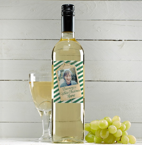Christmas Sauvignon Blanc Wine - Photo Upload