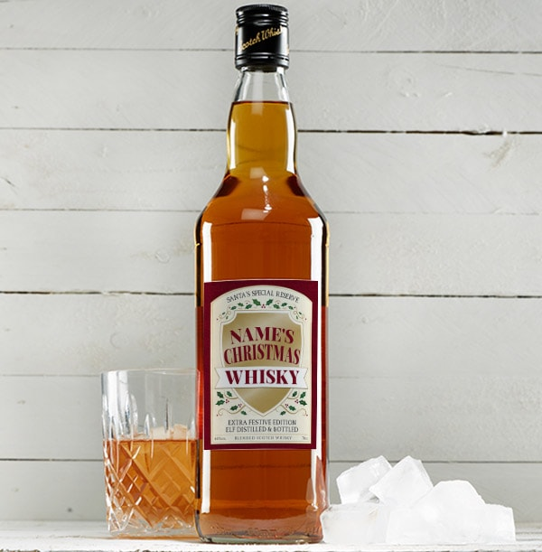 Christmas Blended Scotch Whisky - Personalised